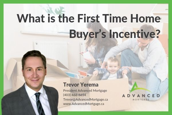 What is the First Time Home Buyer's Incentive?